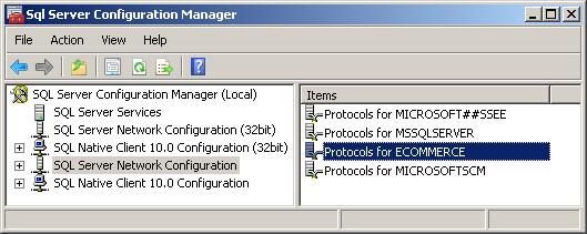SQL Server Network Configuration