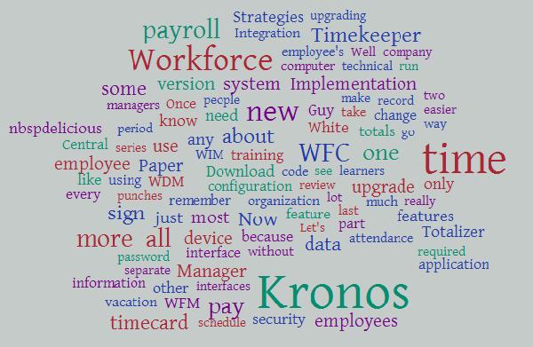 The Kronos Guy Blog