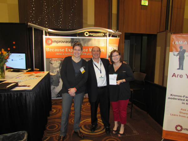 Aron J. Ain, Kronos CEO, stop by Improvizations to say hello!