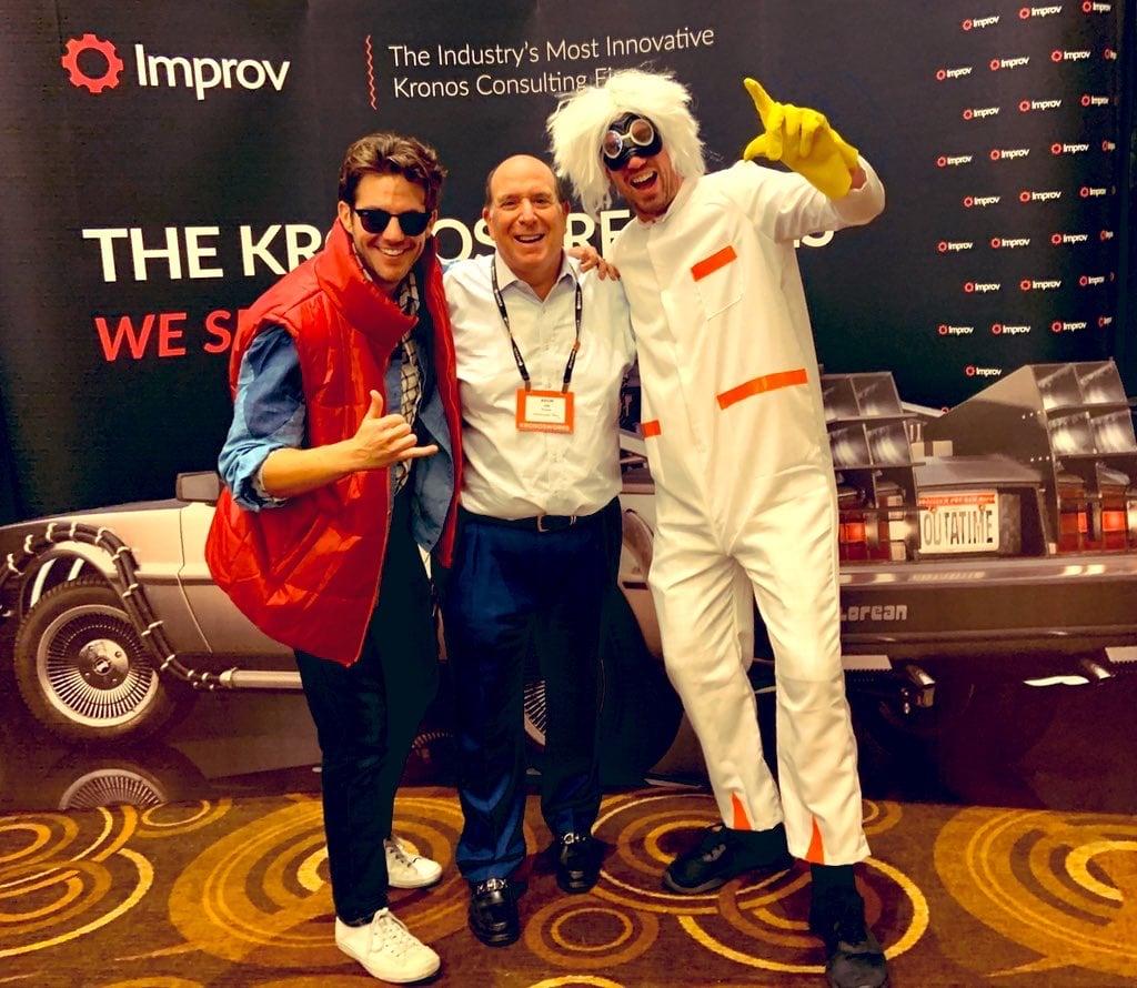The way we were. KronosWorks, 2019, Las Vegas.